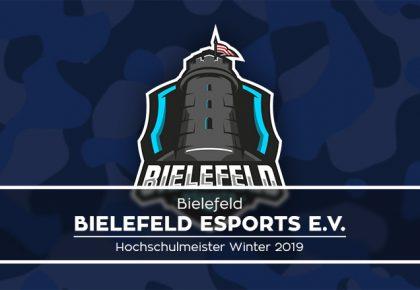 Bielefeld eSports e.V. ist neuer Hochschulmeister