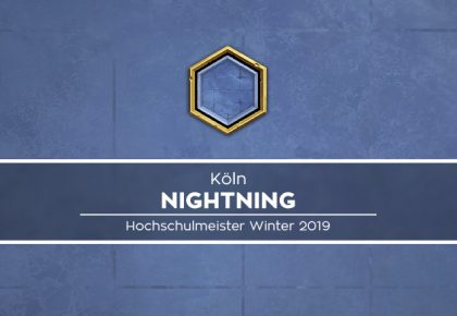 Hochschulmeister – Nightning
