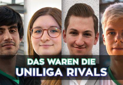 Uniliga Rivals: Striker's Bizarre Adventures gewinnt