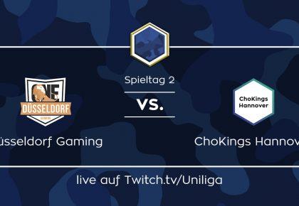 CS:GO: Alle Infos zum Spiel Düsseldorf Gaming vs. ChoKings Hannover