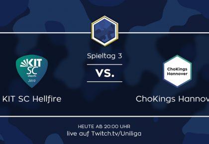 CS:GO: Alle Infos zum Spiel ChoKings Hannover vs. KIT SC Hellfire