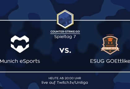 CS:GO: Alle Infos zum Spiel Munich eSports vs. ESUG GOEttlike