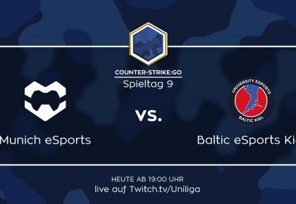 CS:GO: Alle Infos zum Spiel Baltic eSports Kiel vs. Munich eSports