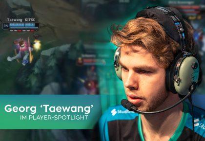 """Player Spotlight – Taewang: """"eSport ist das, was ich am meisten Liebe"""""""