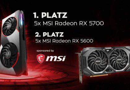 MSI bleibt unser offizieller Hardwarepartner!