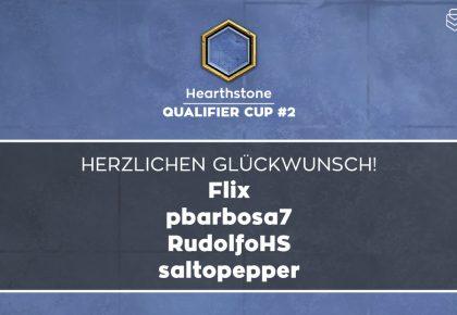 HS: Das sind die Sieger des Qualifier Cup #2
