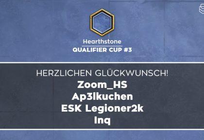 HS: Das sind die Sieger des Qualifier Cup #3