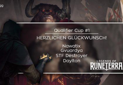 LoR: Das sind die Sieger des Qualifier Cup #1