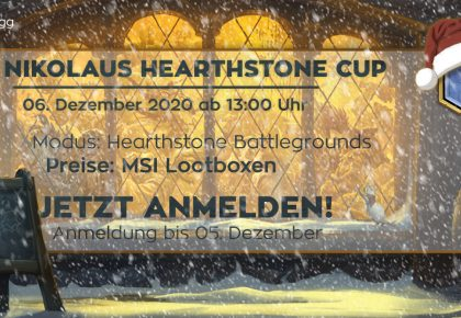 HS Battlegrounds Nikolaus Turnier!