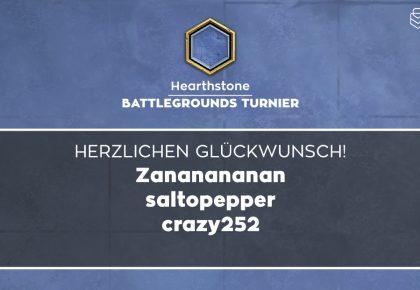 HS: Das sind die Sieger des Battleground Nikolaus-Turniers!