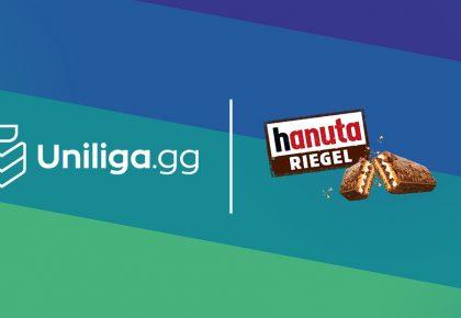 Mit hanuta Riegel wird die neue Uniligasaison der Kracher