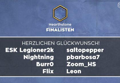 HS: Das sind die Finalisten!