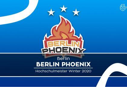 RL: Berlin Phoenix holt sich den dritten Titel in Folge!