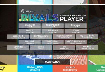 R6S: Der Rivals Draft Stream