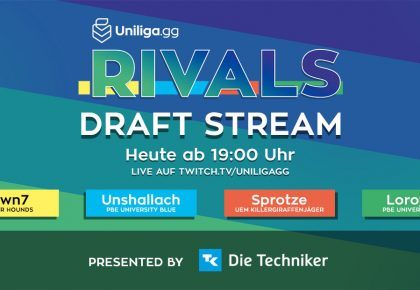 LoL: Der Rivals Draft Stream!