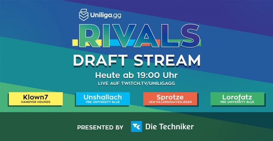 LoL: Der Rivals Draft Stream!