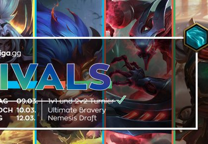 LoL: Ultimate Bravery bei den Uniliga Rivals