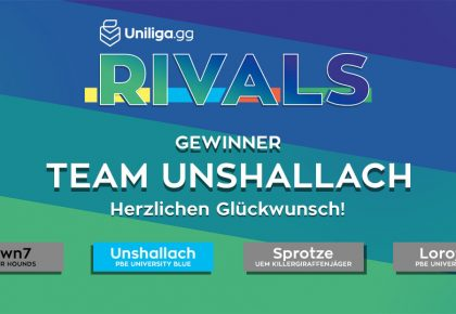 LoL: Team Unshallach gewinnt die Uniliga Rivals!