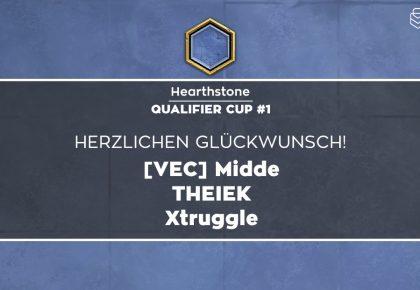 HS: Das sind die Sieger des Qualifier Cup #1