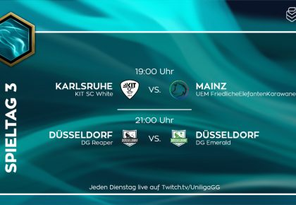 LoL: Düsseldorf-Derby und Mainz vs. Karlsruhe