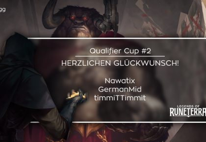 LoR: Das sind die Sieger des Qualifier Cup #2!