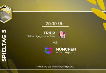 R6S: München vs. Trier wird nachgeholt!