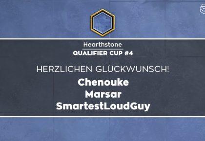 HS: Das sind die Sieger des Qualifier Cup #4