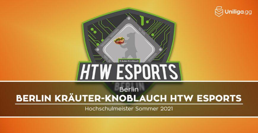 OW: HTW eSports Berlin wird neuer Hochschulmeister!