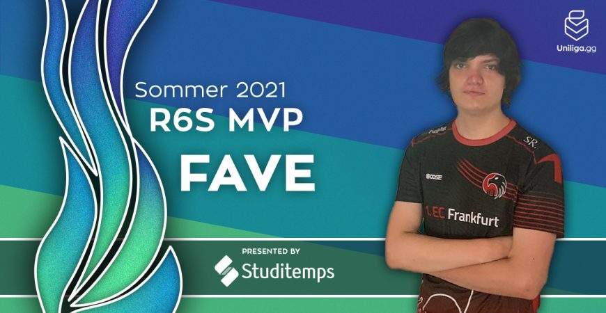 R6S: MVP Award Gewinner 'Fave'