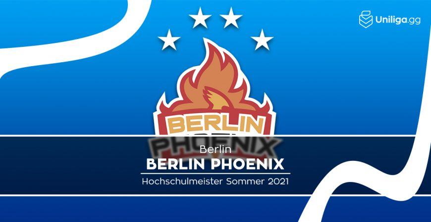 RL: Berlin Phoenix gewinnt den vierten Titel in Folge!