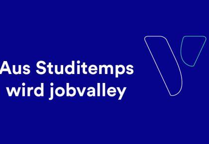 jobvalley: Studitemps levelt auf